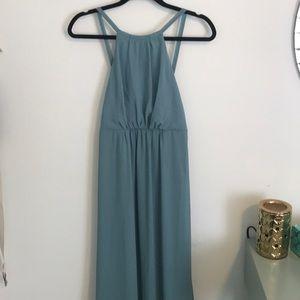 New!! Show Me Your MuMu Poolside blue maxi dress